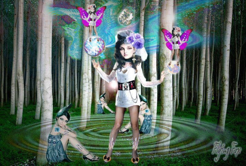 Cosmic Magic Postcard