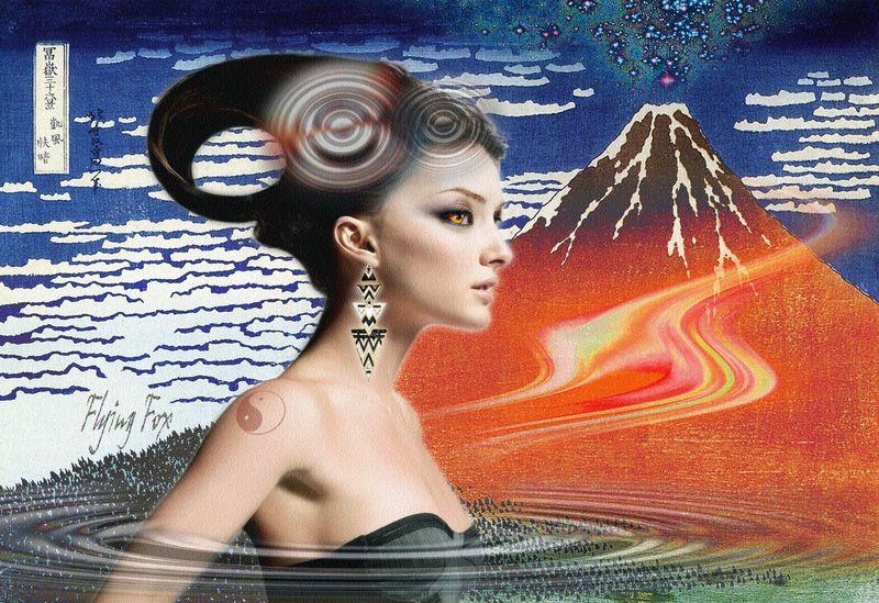Spiritual power of Mt. Fuji